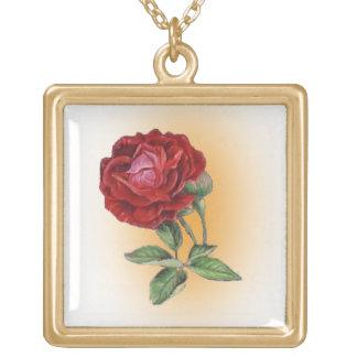 Victorian rose custom jewelry