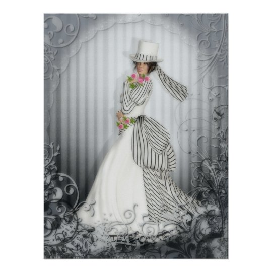 Victorian Rose Print
