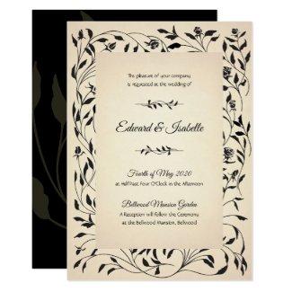 Victorian Roses Invitation