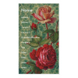 Victorian Roses Pack Of Standard Business Cards