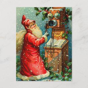 Victorian Santa Claus Christmas Postcards