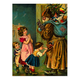 Victorian Santa Claus Christmas Postcards