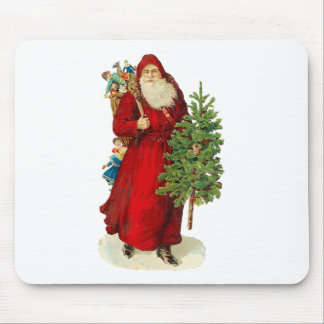 Victorian Santa Claus Mouse Pad