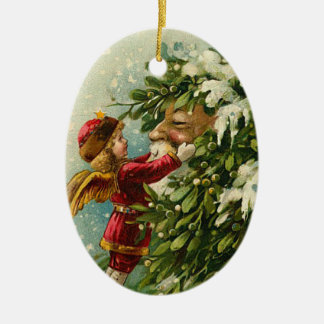 Victorian Santa Claus Ornament