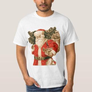 Victorian Santa with bag of toys Tee Shirts