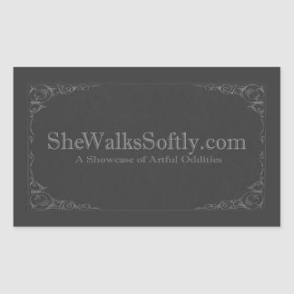 Victorian Shade Rectangle Sticker