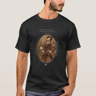 Victorian Society Consulting Detective Agency Tee