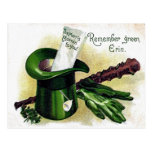 Victorian St Patrick's Day Postcard