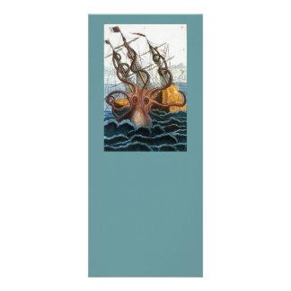 Victorian Steampunk Kraken Octopus Sea Creature Announcements