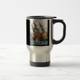 Victorian Steampunk Kraken Octopus Sea Creature Coffee Mug