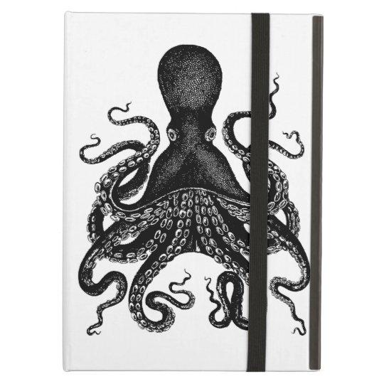 Victorian Steampunk Octopus Kraken iPad case