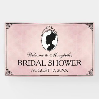 Victorian Style 60s Cameo Bridal Shower