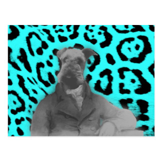 Victorian Style Airedale Gifts Postcard