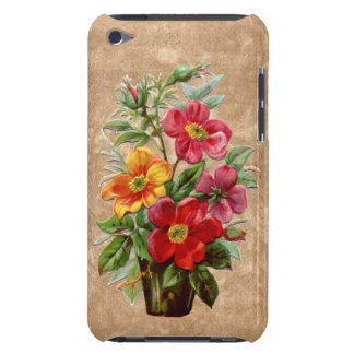 Victorian style embossed effect floral display iPod touch covers
