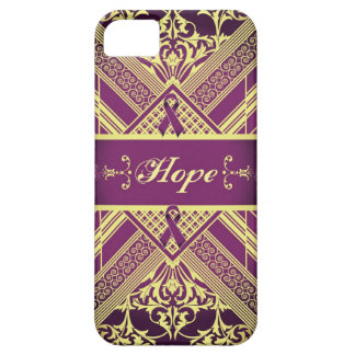 Victorian Style Pan Cancer Awareness Products. Barely There iPhone 5 Case