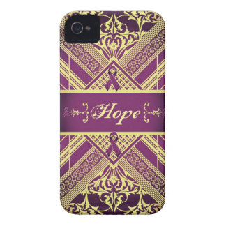 Victorian Style Pan Cancer Awareness Products. Case-Mate iPhone 4 Cases