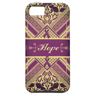 Victorian Style Pan Cancer Awareness Products. iPhone 5 Covers