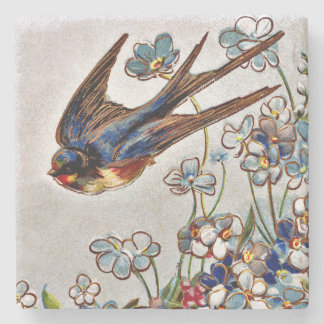 Victorian Swallow Coaster