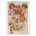 Victorian Valentine Greeting Valentine's Day Card