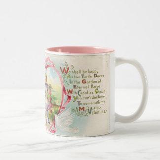 Victorian Valentine Poem Coffee Mug