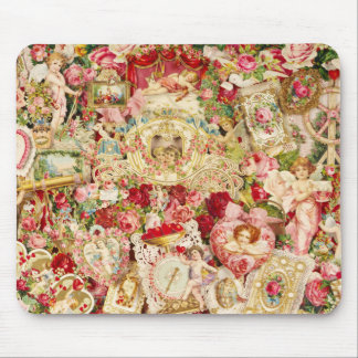 Victorian Valentines Mousepad Collage
