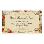 Victorian Vintage Floral Business Card