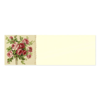 Victorian Wedding Place Setting Cards Pack Of Skinny Business Cards