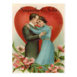 Victorian Wedding Save the Date Post Card