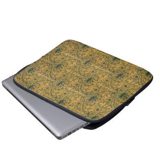 Victorian William Morris Floral Textile Pattern Laptop Sleeve