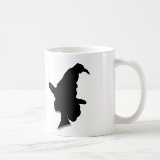 Victorian Witch Silhouette Mug