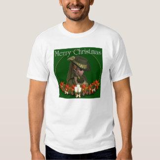 Victorian Woman 2 - Merry Christmas T-Shirt