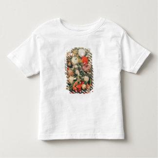 Victorian woollen flowers in a glass case toddler T-Shirt