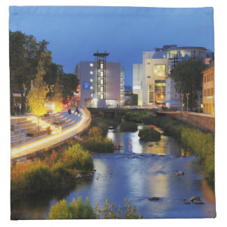Victories victory banks to the blue hour napkin