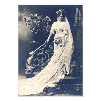 Victorion Bride Invitation