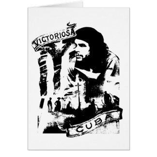 Victoriosa Cuba Greeting Card