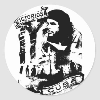 Victoriosa Cuba Round Stickers