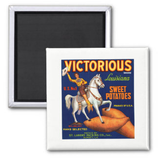 Victorious Brand Louisiana Sweet Potatoes Magnet