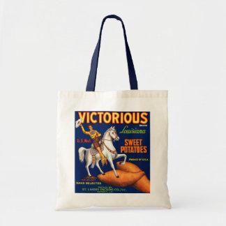Victorious Brand Louisiana Sweet Potatoes Budget Tote Bag