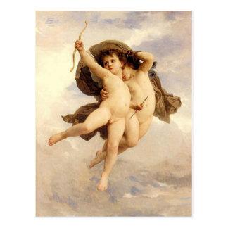 Victorious Love by Bouguereau Postcard