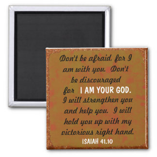 Victorious right hand bible verse magnet