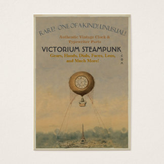 Victorium Steampunk Business Card