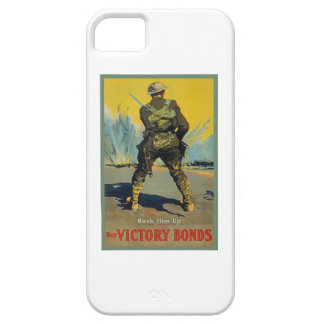 Victory Bonds Back Him Up WWI Propaganda WW1 iPhone 5 Cover