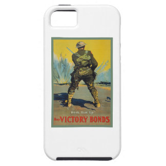 Victory Bonds Back Him Up WWI Propaganda WW1 iPhone 5 Covers