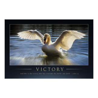 VICTORY - Christian Motivational Posters
