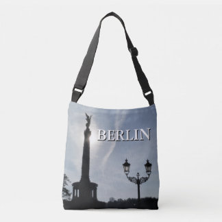 Victory-Column_02.02.T with street lamp, Berlin Crossbody Bag