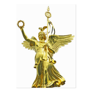 Victory Column Angel (siegessaule),Berlin (v10) Pack Of Chubby Business Cards