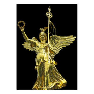 Victory Column(siegessaule),Berlin,Angel Black Bac Pack Of Chubby Business Cards