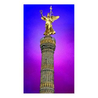 Victory Column (siegessaule),Berlin, Art Sky Business Cards