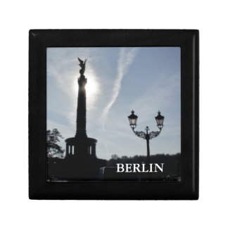 Victory-Column with street lamp 01.T, Berlin Small Square Gift Box