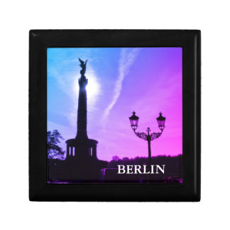 Victory-Column with street lamp 03.T, Berlin Small Square Gift Box